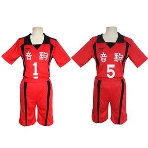 Image 4 - 9 סגנונות Haikyuu קוספליי תלבושות Karasuno תיכון מועדון כדורעף Hinata Shyouyou ספורט גופיות אחיד