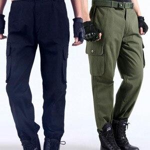 Image 1 - Spodnie robocze męskie naprawa samochodów zabezpieczenie w pracy spawanie fabryka odzież robocza spodnie bawełniane odzież ochronna spodnie