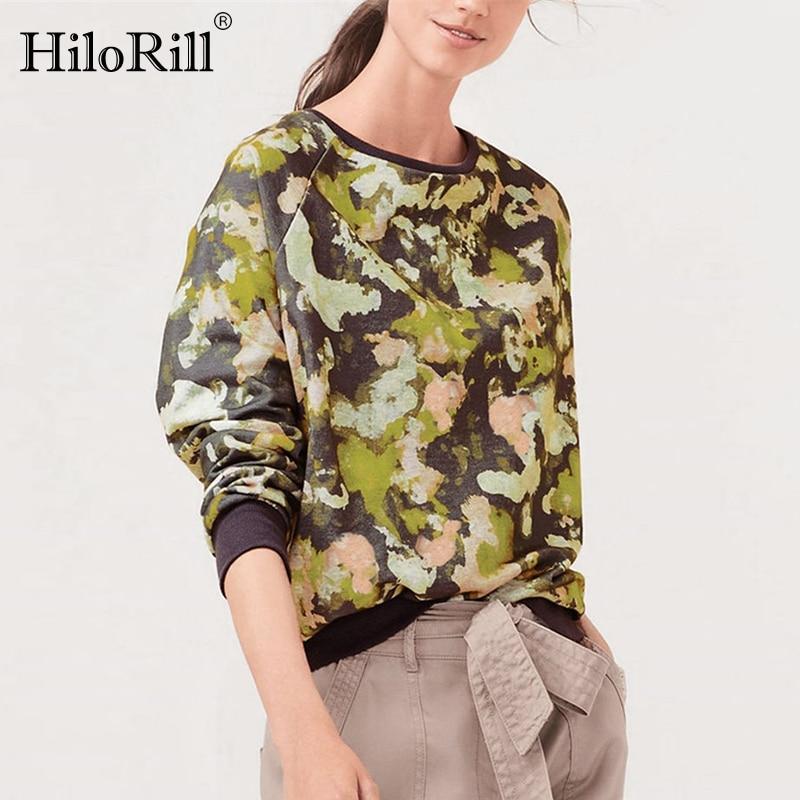 2020 Autumn Women Sweatshirt Casual Long Sleeve O Neck Print Pullover Jumper Hoodies Sweatshirts Leisure Tops Sudaderas Mujer