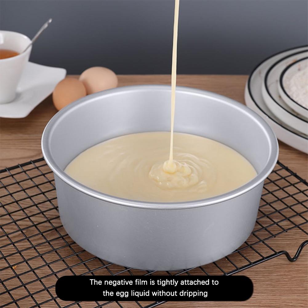 1 шт. кекса олова торта круглая алюминиевая форма для торта из анодированного инструмент для выпечки для дома Кухня День рождения Свадебные ...