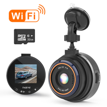 цены Mini 1.5 inch Car DVR 1080P HD Camera Car Dash Cam Video Recorder WiFi GPS ADAS Dash Cam USB With Motion Detection Night Vision