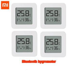 Image 1 - 100% plus récent XIAOMI Mijia Bluetooth thermomètre 2 sans fil intelligent électrique hygromètre numérique thermomètre