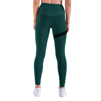 NORMOV New Hotsale Women Gold Print Leggings No Transparent Exercise Fitness Leggings Push Up Workout Female Pants 9