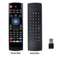 Control de voz teclado y ratón inalámbrico 2,4G RF Sensor de giro inteligente de Control remoto para X96 H96 Android TV Box Mini PC del G10