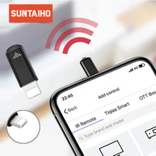 Suntaiho Universal Smart infrared remote Control for iphone Samsung Xiaomi Mini IP remote Controller Adapter for TV aircondition