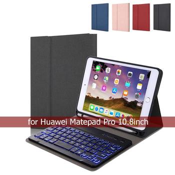 English/Russian Keyboard Case For Huawei Matepad pro 10.8 Auto Wake/Sleep Cover Tablet for Bluetooth