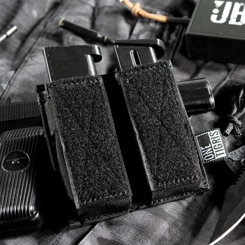 OneTigris Tactical Double Pistol Magazine Pouch Handgun Mag Pouch For GLOCK, M1911, 92F, 40mm Grenades, Etc.