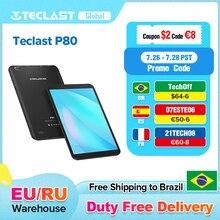 "Teclast P80 8"" IPS 1280×800 Tablet Android 10. 0 OS Allwinner A133 CPU GE8300 GPU 2GB RAM 32GB ROM Dual Wifi Type-C Tablet PC"