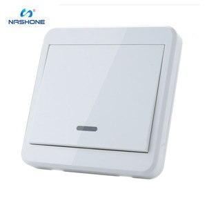 Image 1 - Interruptor de controle remoto da luz da lâmpada do interruptor 90 433 v do rf 260 hz wirelessremote no receptor fora da parede do fio (vendido separadamente)