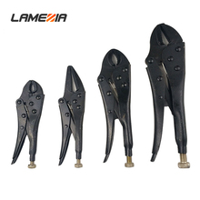 LAMEZIA 4PCS Multipurpose 45 Steel 4 Paper Set Vigorously Clamp Black Heat Suit Alicate Pliers Wire Cutter