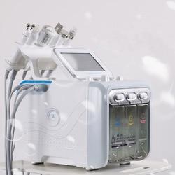 6 in1 H2-O2 Hydro Dermabrasion RF Bio-lifting Spa Facial Hydro Facial Microdermabrasion Machine Water Dermabrasion