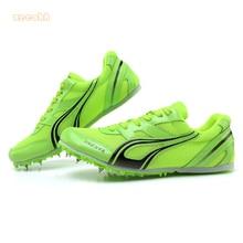 Спортивная обувь с шипами; тренировочный спортивный костюм для мужчин и женщин; Профессиональная беговая дорожка; беговые кроссовки; мягкие кроссовки; Размеры 35-45