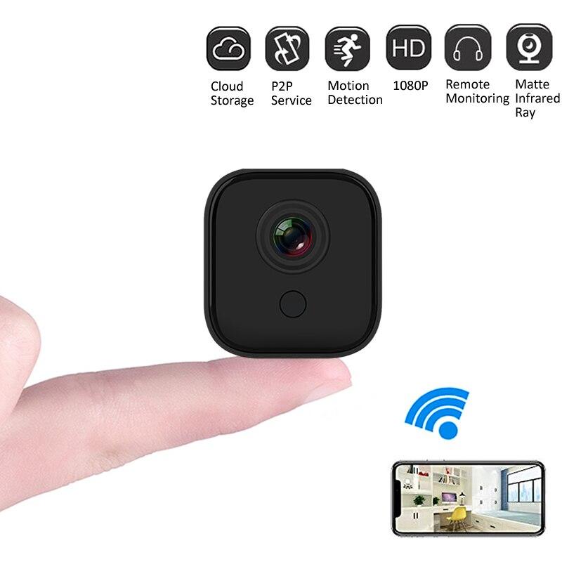 1080P WiFi IP Camera Battery Wireless Network Security Camera Portable Mini DV Camera Remote View Audio Cloud Storage Home Safe