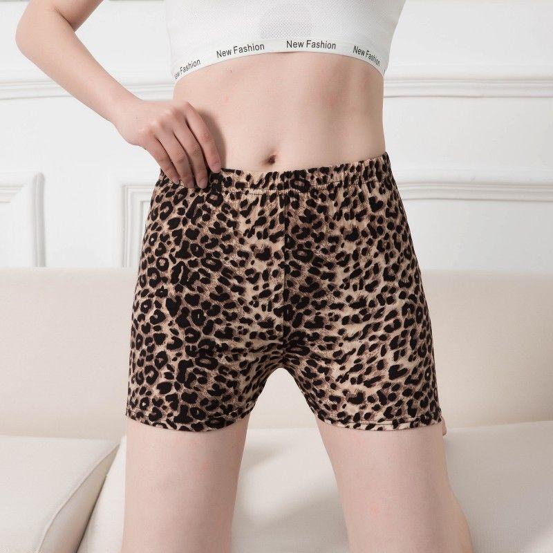 Sexy Print Shorts Ladies Fashion Summer Shorts Women Leopard Push Up Shorts Large Size Elastic Waist Charming Club Short