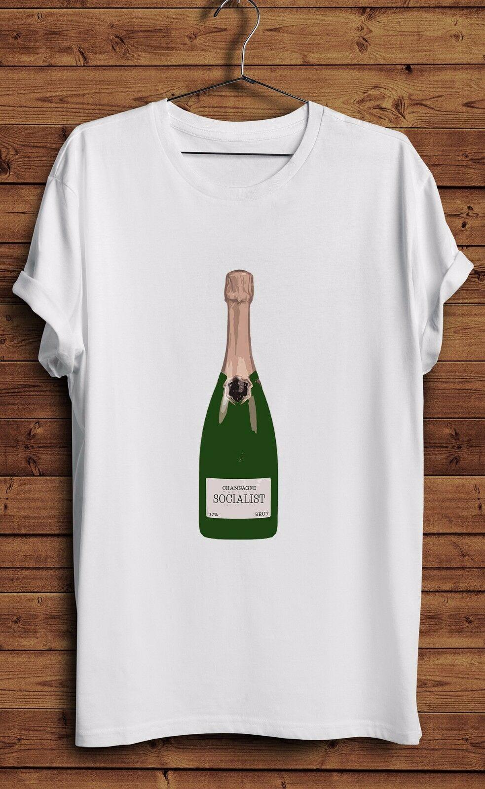 Champagne Socialist T Shirt Rich Kids Socialism Labour Corbyn Left Wing Liberal