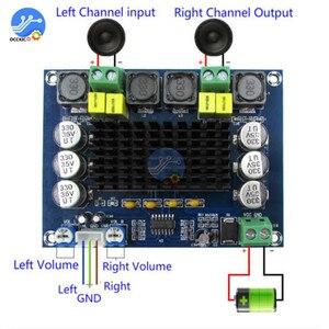 TPA3116D2 XH-M543 двухканальный стерео высокой мощности цифровой аудио усилитель плата 2*120 Вт Amplificador DIY модуль 12В-24В