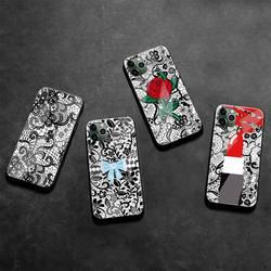 Чехол из закаленного стекла для iPhone 12 pro max mini 11 Pro XR XS MAX 8X7 6S 6 Plus SE 2020