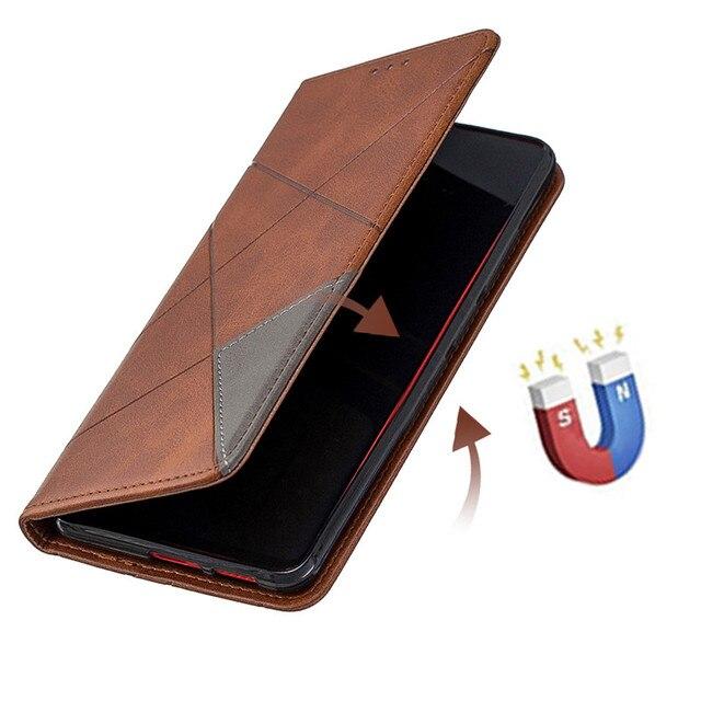 קליטה מגנטית עור Flip מקרה עבור Xiaomi Redmi הערה 7 מקרה רטרו ארנק כרטיס מחזיק Stand ספר כיסוי עבור Xiaomi redmi 7A