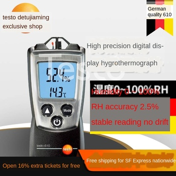 цена на 610 temperature and humidity meter air humidity temperature measuring instrument