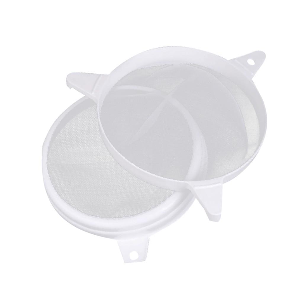 Stainless Steel Double Layer Adjustable Honey Strainer Filter Sieve Equipment