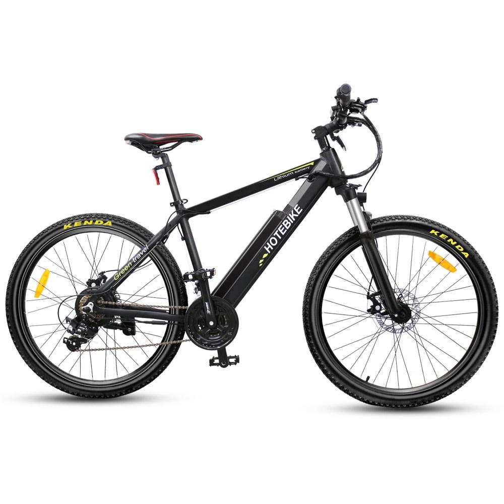 HOTEBIKE 27.5 inch Electric Mountain Bike 48V 750W High Power Electric Bike with 13AH Battery (A6AH26)