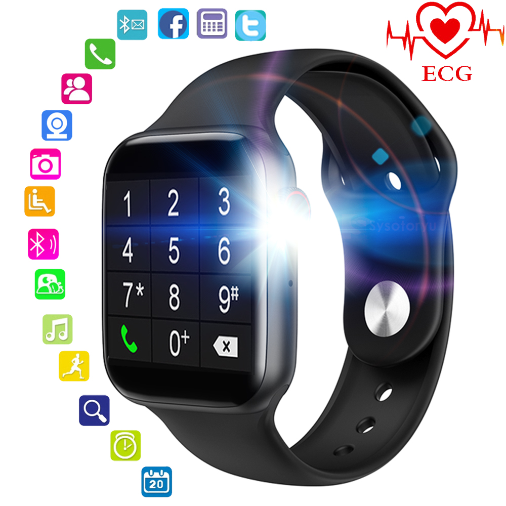 MTK2502D Smart Watch Support Bluetooth Call Message ECG Heart Rate Smart Watch Men Smartwatch Women 5 For Apple Android Phone(China)