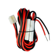 DC Power Cable Cord for Mobile Radio for Kenwood TM-241 TM261 YAESU FT-7800R T Shape(China)