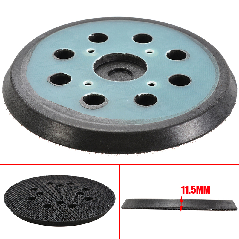 6 Inch 125mm Multifunctional Sanding Pad Sander Backing Pad Hook And Loop Power Tools Accessories For Metal Polishing Cleaning