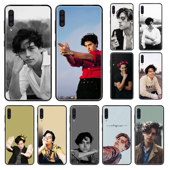Riverdale Cole Sprouse Phone case For Samsung Galaxy A 3 5 8 9 10 20 30 40 50 70 E S Plus 2016 2017 2018 2019 black soft funda image