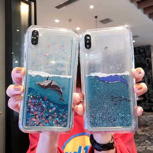 Динамический блестящий чехол для телефона Huawei Honor 5A 7A 5X 6X 7X 8X 8S 8A 8C Max 9X 9 10 V10 V20 P9 P8 Pro Lite 2017 чехол с зыбучим песком