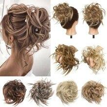 Грязные волосы пучок волос пушистые расширение кудрявые грязные