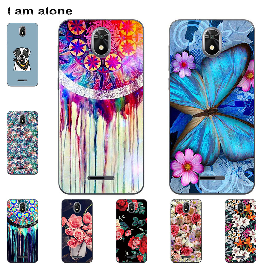 Mobile Phone Case For TP-Link Neffos C5 Plus 2018 5.34 inch DIY Customised Cellphone Cover Soft TPU Silicon Housing Bag Shell