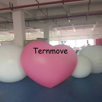 PVC Giant Advertising Inflatable Heart Balloon for wedding large Inflatable helium heart model For Valentine's Decoration