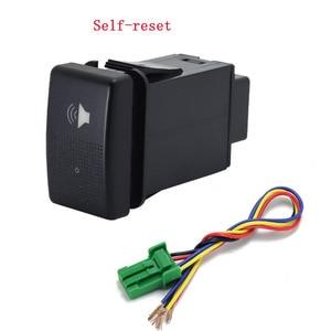Image 2 - 1PC fan speaker Front Fog Light Rearview mirror folding Driving recorder radar Switch Button For Mazda 5