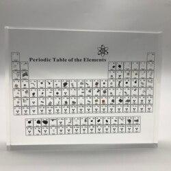 Periodensystem der Elemente Periodische Tabelle Display Mit Echt Elemente Kinder Lehre Lehrer Tag Geschenke Periodische Tabelle Acryl