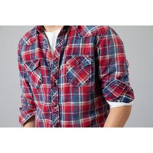 Image 3 - SIMWOOD 2020 Autumn winter new plaid shirts men casual check double pocket high quality 100% cotton shirt  190459