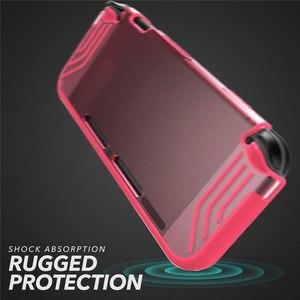 Image 5 - Pour Nintendo Switch Case Mumba Slimfit série Premium mince clair hybride étui de protection couverture pour Nintendo Switch 2017 libération