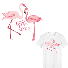 Iron on Transfer Letter Flamingo Patches for Girl Clothing Applique Heat Transfer Vinyl Stickers Stripes on Clothes Heat Press heat transfer mould solid aluminium alloy 3d heat press phone case mould for lenovo a2010