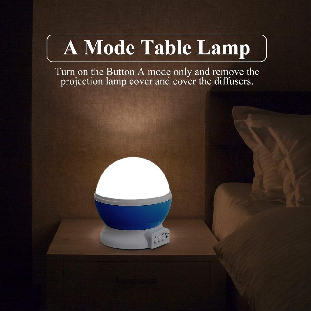 LED Star Planetarium Light With Three Button Control For Room Decoration 2