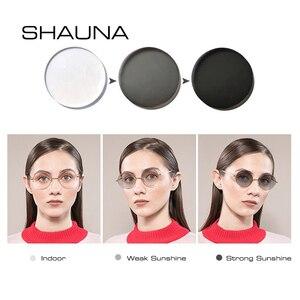Image 4 - SHAUNA lentes de resina graduadas para CR 39, lentes de decoloración para miopía, hipermetropía, óptica, sensible a la luz, 1,56