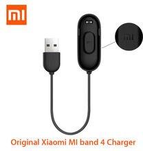 Оригинальный зарядный кабель Xiaomi mi band 4, сменный шнур для зарядки, адаптер для умного браслета Miband 4, аксессуары