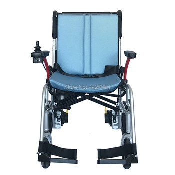 Ultra-light electric wheelchairs can be taken on board