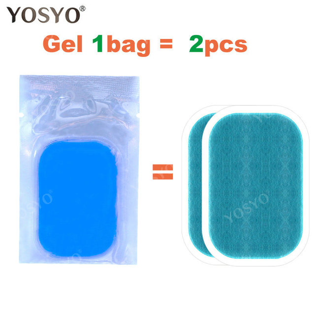 15/30/50/100Pair Replacement Gel Pads For EMS Trainer Weight Loss Abdominal Muscle Stimulator Exerciser Replacement Massage Gel 1