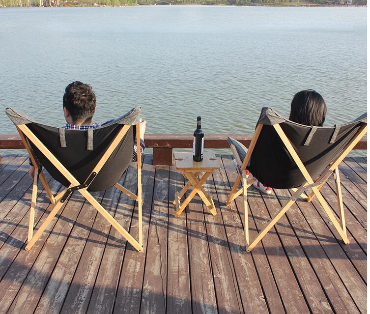 Katlanır Kelebek Sandalye Kumaş Yastık Döşeme Oturma Odası - Mobilya - Fotoğraf 6