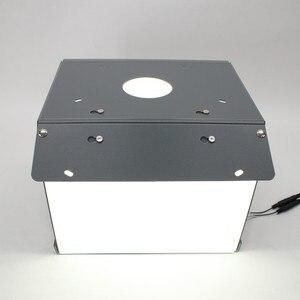 Image 4 - Mới Sanoto Chụp Ảnh Mini Hộp Studio Chụp Ảnh Phông Di Động Softbox Đèn Led Hình Hộp Gấp Gọn Hình Phòng Thu Hộp Mềm