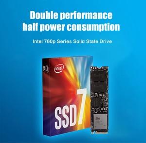 Image 5 - אינטל SSD 760P סדרת 128GB NVME ssd TLC m.2 2280 PCIe 3.0x4 SSD 256GB 512GB 1TB 2TB כונן מצב מוצק עבור מחשב נייד