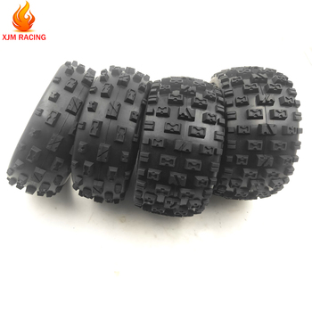 цена на Front Size 170x60 and Rear Size 170x80 Knobby Tyre Skin Set for 1/5 Hpi Rofun Rovan Km Baja 5b Rc Car Toys Parts