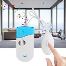 цены Wired Smart Doorbell Wall Mounted Chime Music Welcome Door Bell Home Office School Ring Bell Security Access Control System Hot