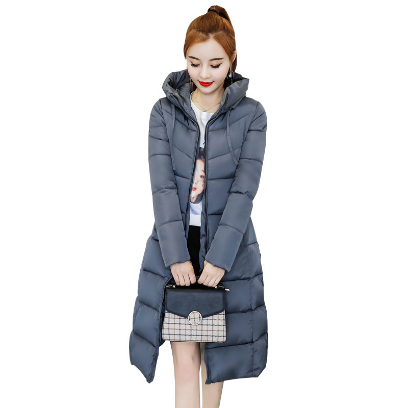 Parka Women Winter Basic Jackets Female Coats Hooded Warm Cotton Coats Women Down Jackets 2019 Solid Outwear Coats Women Jackets