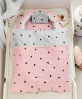 Multi-function Portable Baby crib Newborn Bionic uterus bed Travel Baby Nest Cot With Quilt Removeable Baby Bed Bumper